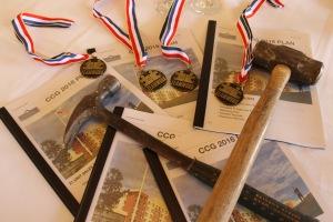 2016 ccg medals